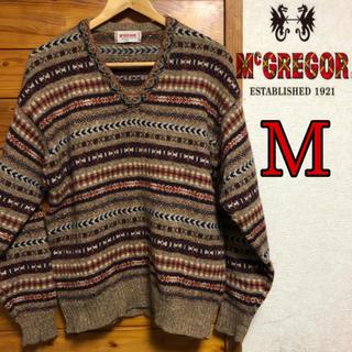 マックレガー(McGREGOR)のマックレガー セーター ウール100% プルオーバー(ニット/セーター)