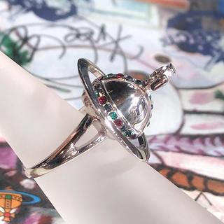 ヴィヴィアンウエストウッド(Vivienne Westwood)の新品 Vivienne ポイズンリング 3Dオーブ S(リング(指輪))