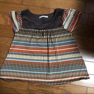 イッカ(ikka)の女の子用 トップス チュニック(Tシャツ/カットソー)