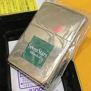 ジッポー(ZIPPO)のZIPPO SEVENSTARS グリーンBOX 当選品 2002年 新品未使用(タバコグッズ)