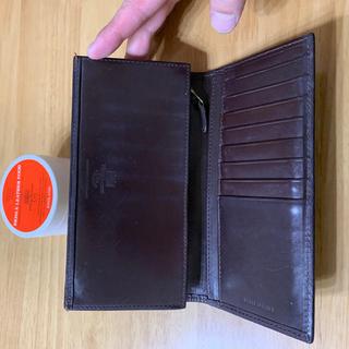 ホワイトハウスコックス(WHITEHOUSE COX)の美品 ホワイトハウスコックス 長財布 財布 ハバナ ブラウン 茶 ワックスセット(長財布)