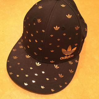 アディダス(adidas)のadidas/キャップ黒(キャップ)