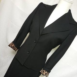 ドルチェアンドガッバーナ(DOLCE&GABBANA)の極美品 ドルチェ&ガッバーナ スカートスーツセットアップ サイズ40(スーツ)
