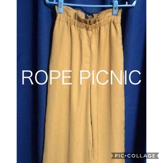 Rope' Picnic - 美品 ROPE PICNIC サイズ38 ワイドパンツ ガウチョパンツ
