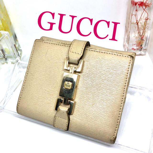 クロノライト - Gucci - グッチ GUCCI  ジャッキー 二つ折り財布  レディース ❣️の通販 by あやか's shop