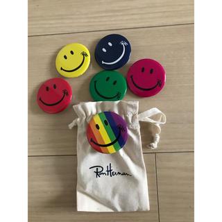 ロンハーマン(Ron Herman)の日本未発売★ロンハーマン★ronherman★バッジ6枚セット★レインボー(その他)