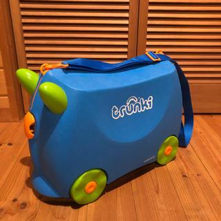 子供用のスーツケース トランキ trunki ブルー オモチャ箱(その他)