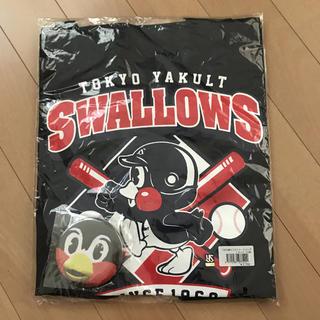 東京ヤクルトスワローズ - つば九郎 トートバッグ缶バッチセット
