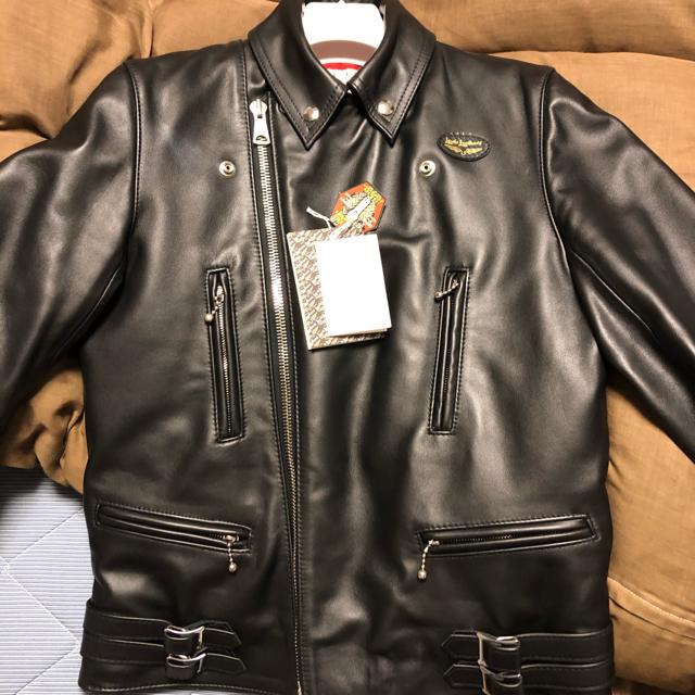 Lewis Leathers(ルイスレザー)のルイスレザー ライトニング タイトフィット サイズ38 タグ付き 美品  メンズのジャケット/アウター(ライダースジャケット)の商品写真