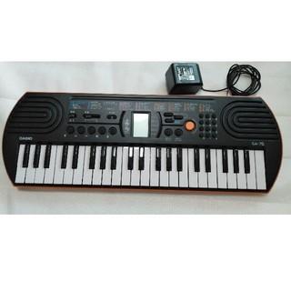 カシオ(CASIO)のCASIOミニキーボード SA-76(電子ピアノ)