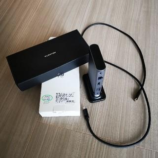 LENTION USB-C  DOCKING STATION D55(PC周辺機器)