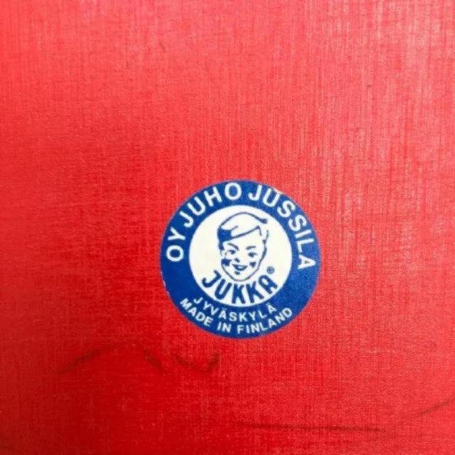 ACTUS(アクタス)の希少 ユシラ社 フィンランド製 キッズデスク キッズチェア セット キッズルーム キッズ/ベビー/マタニティの寝具/家具(その他)の商品写真