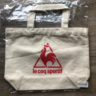 ルコックスポルティフ(le coq sportif)の新品未使用 lecoqsportifルコック トートバッグ(トートバッグ)