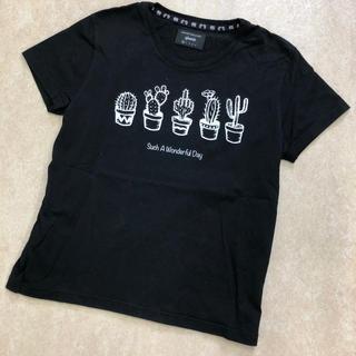 グラム(glamb)のglamb グラム GB0218/T01 Cactuses T Tシャツ 0(Tシャツ/カットソー(半袖/袖なし))