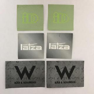 名古屋 栄のクラブ W、iD、IBIZAのドリンクチケット 6枚セット!(クラブミュージック)
