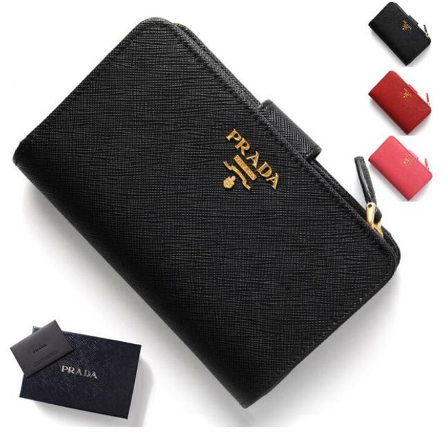 スーパーコピー 時計 ブルガリ tシャツ / PRADA - PRADA ふたつ折り財布の通販 by プロフィール目を通してください。