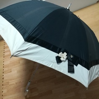 ランバンオンブルー(LANVIN en Bleu)のランバンオンブルー LANVIN en bleu 傘 ミニ傘 日傘雨傘兼用(傘)