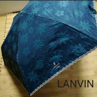 ランバンオンブルー(LANVIN en Bleu)のランバンオンブルー LANVIN en bleu 傘 折りたたみ傘 日傘雨傘兼用(傘)
