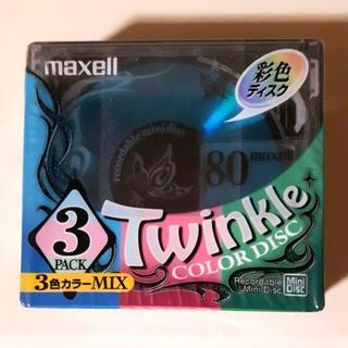 マクセル(maxell)のmaxell Twinkle MD ミニディスク 3枚(その他)
