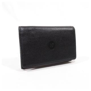 NINA RICCI - 美品■ NINA RICCI ニナリッチ 名刺入れ カードケース 本革 黒