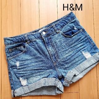 エイチアンドエイチ(H&H)のH&M デニムショートパンツ(ショートパンツ)