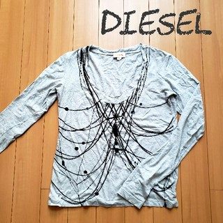 ディーゼル(DIESEL)のDIESEL スパンコールロンT(Tシャツ(長袖/七分))