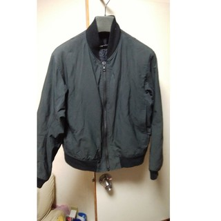 LAD MUSICAN Thinsulate  MA-1 JACKET 44 黒