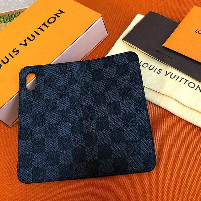 LOUIS VUITTON - ai様【良品、イニシャル無し】ルイヴィトン ダミエ iPhoneX,XSケースの通販