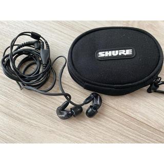 SHURE SE215 ブラック(ヘッドフォン/イヤフォン)