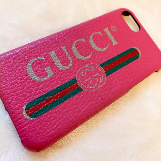 Gucci - gucci iPhoneケース 正規品の通販