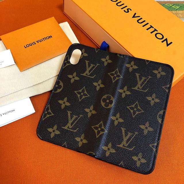 LOUIS VUITTON - 【一部キズ、イニシャル無し】ルイヴィトン iPhoneXS,Xケースの通販