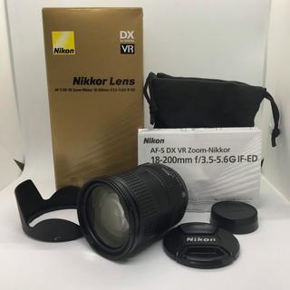 ニコン(Nikon)のAF-S DX NIKKOR 18-200mm f/3.5-5.6G(30)(レンズ(ズーム))