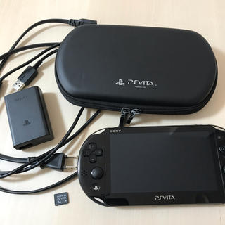 プレイステーションヴィータ(PlayStation Vita)のPSVITA本体セット(携帯用ゲーム機本体)