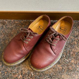 ドクターマーチン(Dr.Martens)のドクターマーチン 3ホール チェリーレッド(ローファー/革靴)