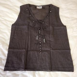 チチカカ(titicaca)のアジアン風カットソー(カットソー(半袖/袖なし))