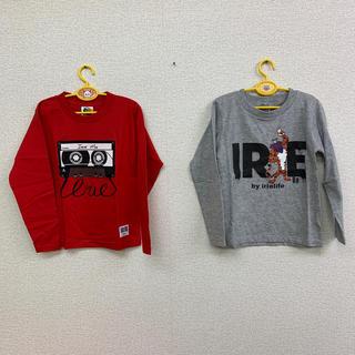 アイリーライフ(IRIE LIFE)の◆新品未使用◆irie life 子供用ロンT 110サイズ 2枚セット(Tシャツ/カットソー)