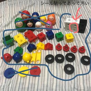 ガッケン(学研)の(まとめて)学研ブロック、いろっち、デカイブロック。セット(積み木/ブロック)
