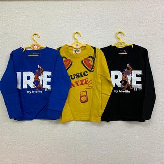 アイリーライフ(IRIE LIFE)の◆新品未使用◆irie life 子供用ロンT 110サイズ 3枚セット(Tシャツ/カットソー)