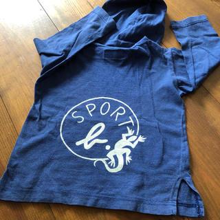 アニエスベー(agnes b.)のアニエス・ベー Tシャツ 長袖 フード付き(Tシャツ/カットソー)