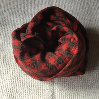 ネストローブ(nest Robe)の美品 ichi ウールガーゼショール ストール(マフラー/ショール)