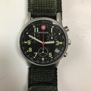 ウェンガー(Wenger)のWENGER 7072X 青島モデル 電池交換済(腕時計(アナログ))