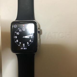 アップルウォッチ(Apple Watch)のアップルウォッチ2貴重なステンレスタイプ42mm(腕時計(デジタル))