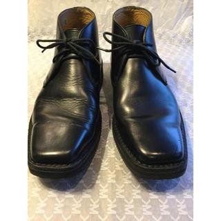 リーガル(REGAL)のREGALリーガル カーフ・チャッカーブーツ 25センチ 美品(ブーツ)