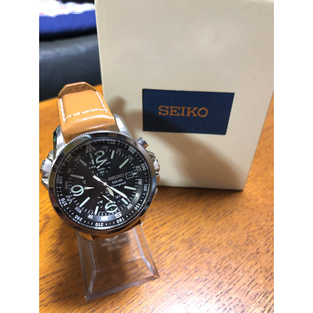 SEIKO - SEIKO ミリタリーパイロットSSC081の通販 by TOMO's shop