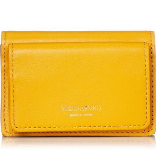 トゥモローランド(TOMORROWLAND)の新品未使用 VIOLAd'ORO ミニウォレット スモール 財布 イエローカラー(財布)