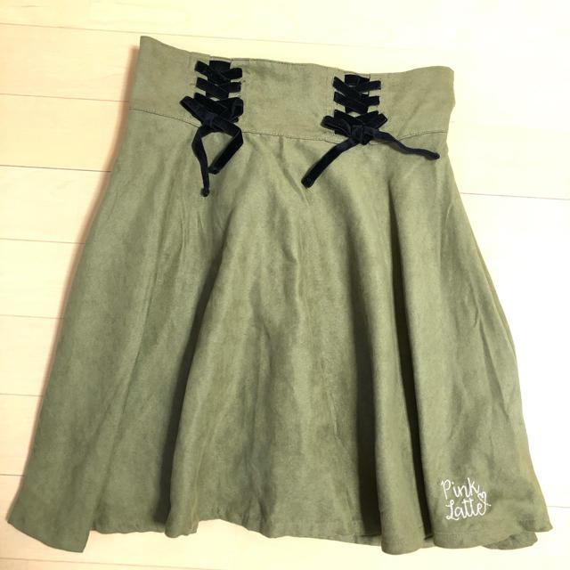 PINK-latte(ピンクラテ)のスカート レディースのスカート(ひざ丈スカート)の商品写真