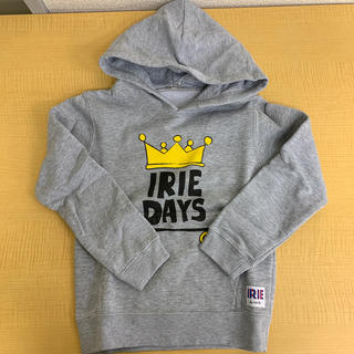 アイリーライフ(IRIE LIFE)の◆新品未使用◆irie life 子供用パーカー 110サイズ グレー(Tシャツ/カットソー)