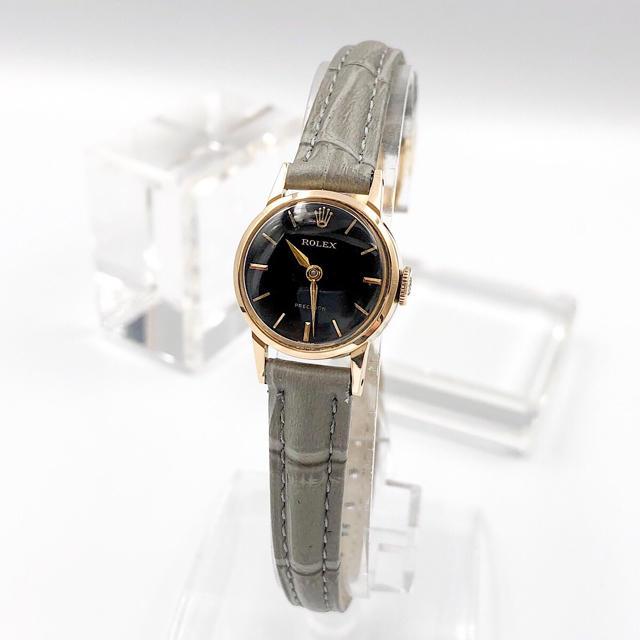 デ ヴィル オメガ | ROLEX - 【OH済/仕上済】ロレックス K18 プレシジョン ゴールド レディース 腕時計の通販 by LMC