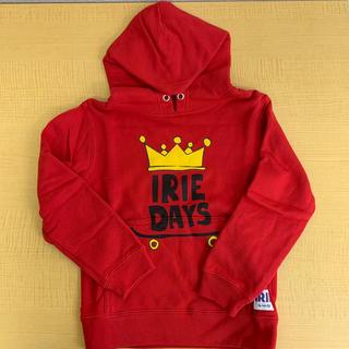 アイリーライフ(IRIE LIFE)の◆新品未使用◆irie life 子供用パーカー 110サイズ レッド(Tシャツ/カットソー)