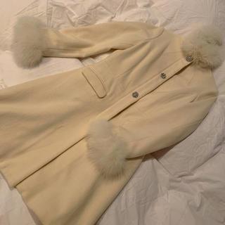 ニーナミュウ(Nina mew)のホワイトコート Aライン(ロングコート)